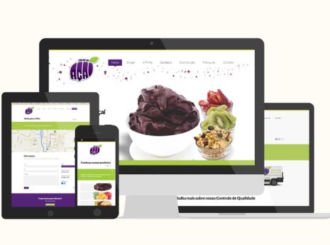 Site Trilha do Açaí - Digital Prime Web Solutions Criação de Sites