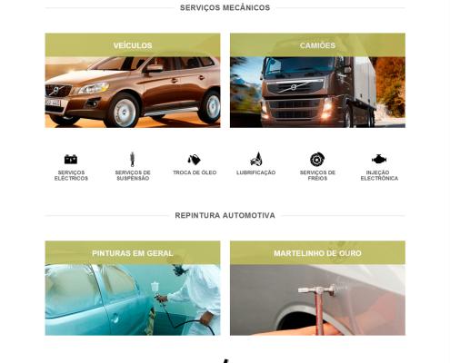 Site Del Rey Motors - Digital Prime Web Solutions - Criação de Sites