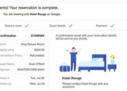 Google testa ferramenta para reservas online - Booking - Google Hotels