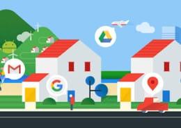 a nova identidade do Google