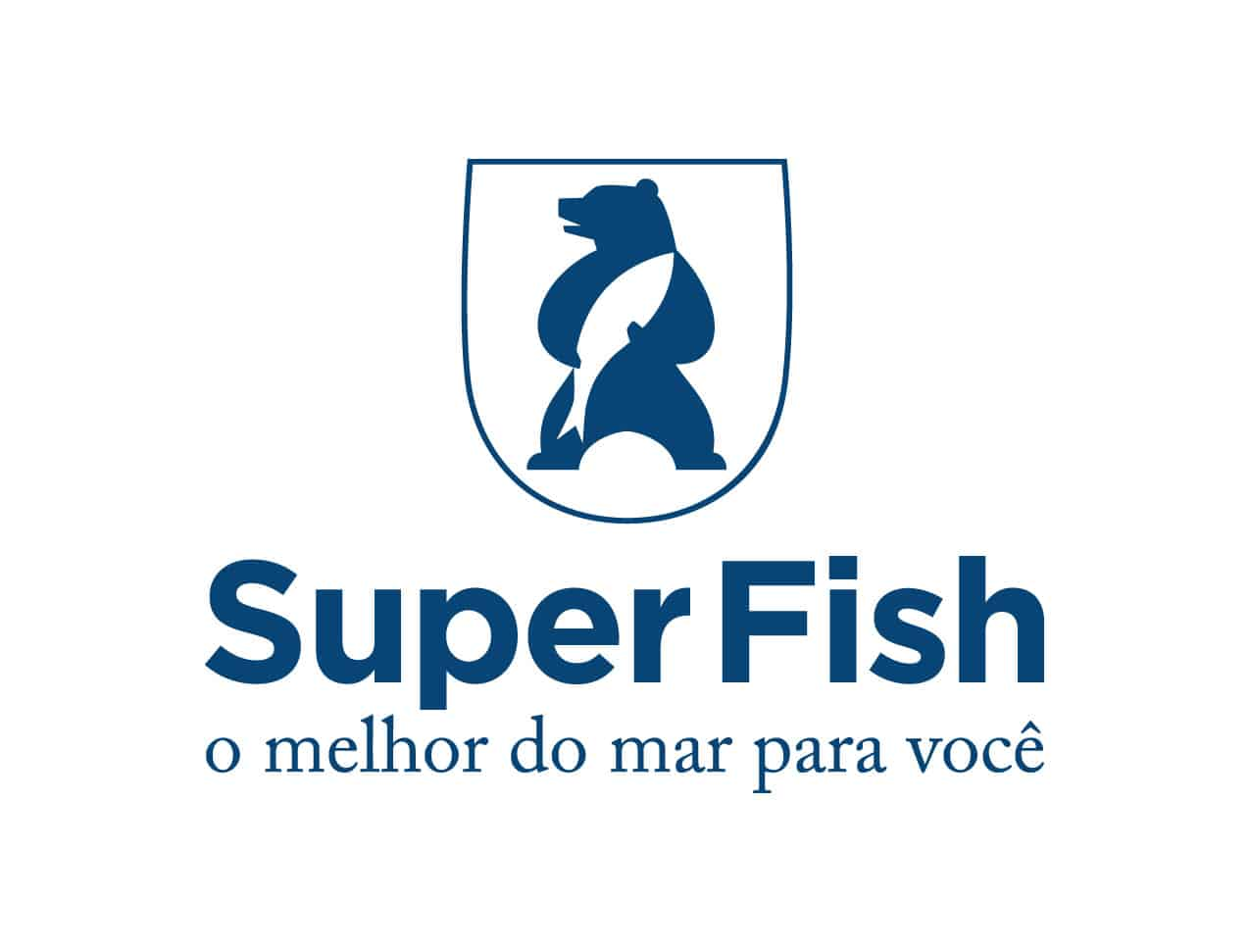 logo super fish pescados foz vertical