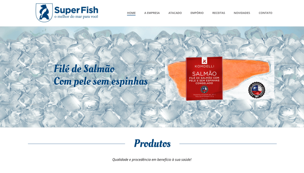 Site Super Fish Pescados Foz 1