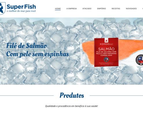 Site Super Fish Pescados Foz 1