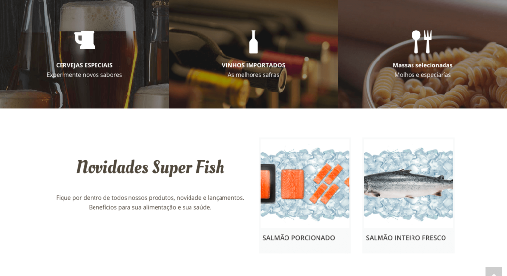 Site Super Fish Pescados Foz 3