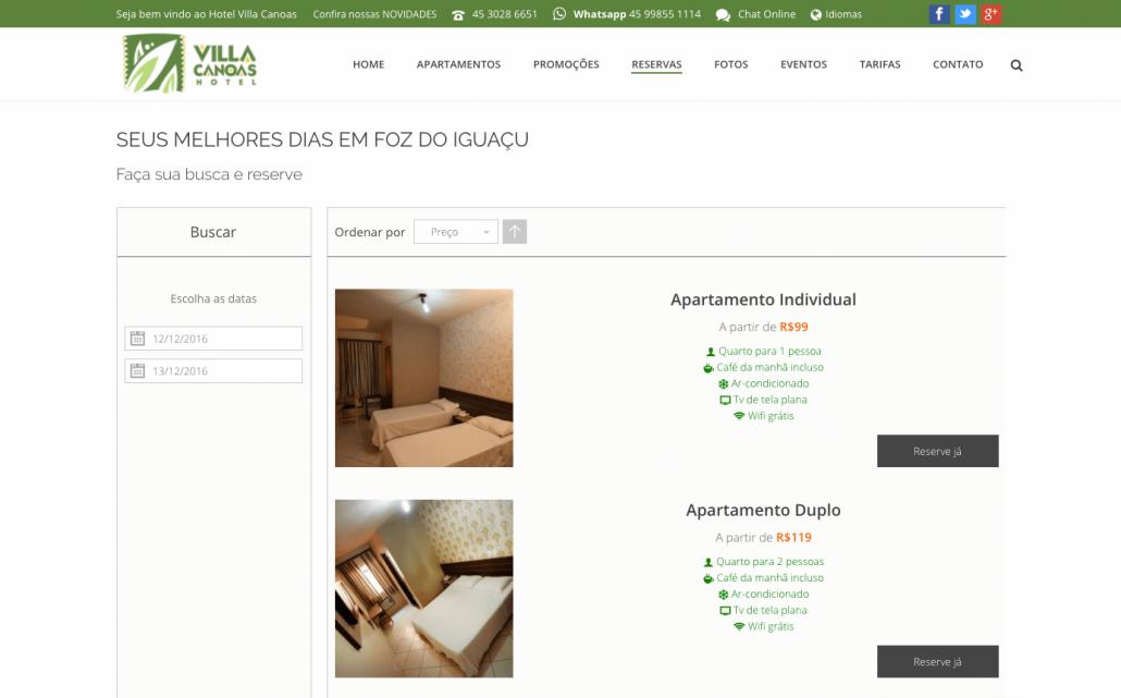 reservas novo site hotel villa canoas foz digital prime.png